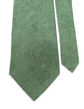 "Tasso Elba Men's 100% Silk Woven Paisley Neck Tie Green 4"" x 58"""