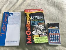 Tested Mr. Challenger Texas Instruments Vintage Handheld Electronic Word Game