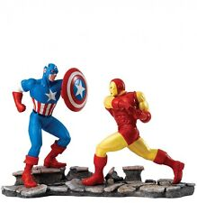 Marvel Collection Captain America V Iron Man Figurine Ornament 28cm A27605