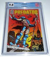 Predator #1 CGC Universal Grade Comic 9.8 1st Appearance in Comic Books