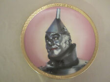 Tin Man collector plate Wizard Of Oz Portraits Thomas Blackshear