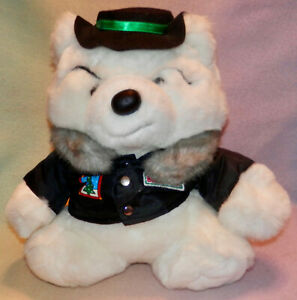"1989 Dayton Hudson Collectable Santa Bear ""Polar Club Bully Bear"" 12 IN TALL *"