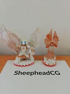 Skylanders Trap Team Sunscraper Spire & Knight Light Figures - VGC - Fast Post!