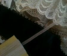 PER YARD Antique Dainty Tiny Dolls Lace Trim or Lace Making