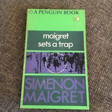 SIMENON MAIGRET. MAIGRET SETS A TRAP. 1968