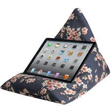 IPad Tablet Ereader Kindle Teléfono Base Cojín Bolsa de Frijol Terciopelo Flor De Cerezo