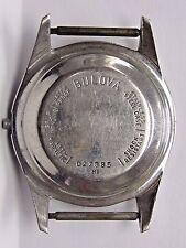 Antique Gents Bulova Stainless Steel Watch Case.M1 #D27885. Case size 42 x 33 mm