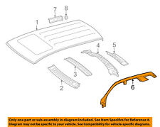 MERCEDES OEM 12-15 ML350-Exterior Roof Side Rail Right 1666373600