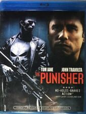 Blu Ray THE PUNISHER. John Travolta, Tom Jane. UK compatible. New sealed.
