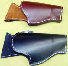 Leather holster for the Smith & Wesson Governor revolver