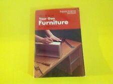 HOW TO BUILD YOUR OWN FURNITURE - POPULAR SCIENCE SKILL BOOK- U CAN DO IT!!!!!!!