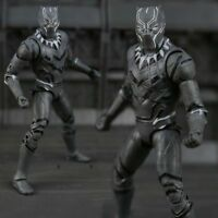 "SHF 6"" Marvel Captain America 3 SHF Black Panther PVC Action Figure Toy Gift"