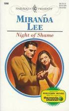 Night Of Shame, Miranda Lee, 0373119909, Book, Good
