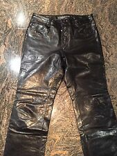 Gap Leather Pants - Size 8 - Black (Lot B)