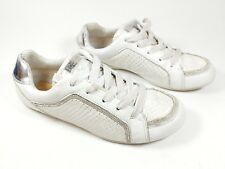 Guess white leather trainers uk 4 eu 37