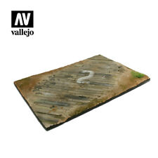 VALLEJO SCENICS - WOODEN AIRFIELD SURFACE (31x21CM) - SCALE 1:35 - SC102
