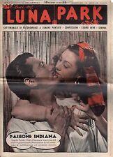 rivista fotoromanzo - LUNA PARK - Anno 1949 Numero 47 ANGELO PRIOLI E D. PAMARA