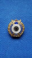 Rare enamel badge pin  YUGOSLAVIA SHOOTING ASSOCIATION Federation