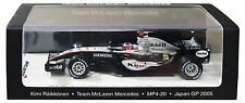Spark 1/43 McLaren MP4-20 2005 Japan GP Winner #9 Kimi Raikkonen VMM1376 Gift FS