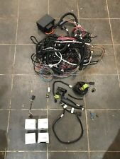 GM Holden LS3 Wiring Loom Including 4 O2 Sensors, Fuse Box, Some components gone