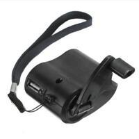 Kurbel Ladegerät: Universal-Dynamo-Ladegerät für-Handy & USB-GeräteHeiß& N4V4