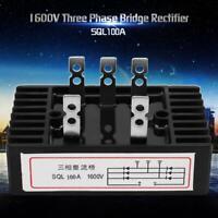 SQL100A 1600V CA à CC Redresseur complet triphasé de diode de pont durable