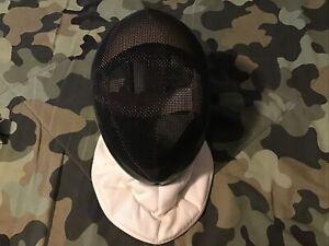 AF Absolute Fencing Gear Helmet Face Mask Model 11001 Standard 3W Size Medium