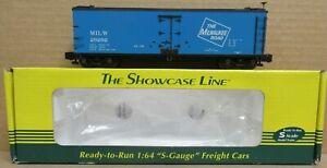 S-Helper 01363 Milwaukee Road Blue Reefer #29292 NIB S-Gauge/Scale