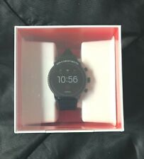 Fossil FTW4018 Gen 4 Explorist HR 45mm Smartwatch - Black - NEW