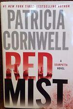 Red Mist: A Scarpetta Novel by Patricia Cornwell new large print Book Club ed