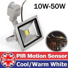 10W 20W 30W 50W PIR Motion Sensor LED Floodlight Security Flood Light Outdoor UK