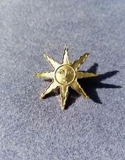 Solaire Sun Lapel Pin Praise The Sun Golden Sunlight Medal from Souls Series