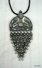 Pendant Necklace Peacock handmade Traditional Design Sterling Silver