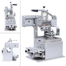 Manual Pad Printing Machine Opened Ink Dish System Pad Printer 65x65 Mm Hot