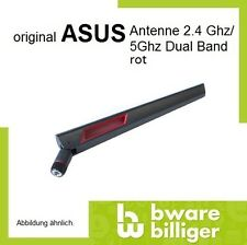 2x ASUS Antenne Router 2.4G / 5G Dual Band WIFI Fritzbox RP SMA Red 9(XB300149)