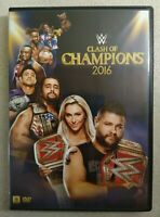 Clash Of Champions 2016 - Wrestling DVD - WWE Home Video - Owens/Rollins
