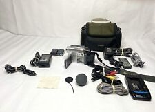 Sony Handycam Dcr-Dvd201 with Battery's And Accessories And Targus Camera Case