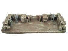 LARGE GUN EMPLACEMENT CIVIL WAR 54 mm MILITARY SCENERY ATHERTON SCENICS (#9600)