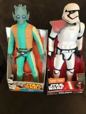 Star Wars Greedo &  Stormtrooper Officer 18-Inch Big Fig  NEW