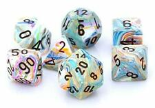 Chessex 27441 Festive Vibrant Brown 7 Dice Set D&D dungeons dragons rpg multi Z