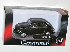 Cararama - VW Volkswagen BEETLE (Matt Black) Model Scale 1:43