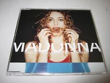 Madonna Drowned World/ Substitute For Love CD Maxi-Single 1998 WEA UK