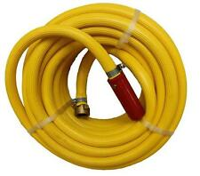 Yellow Fire Hose 19mm x 20m Fitted Complies With NSW Rural Fire Service Specs