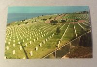 Point Loma FORT ROSECRANS NATL CEMETERY San Diego CA chrome postcard c.1970