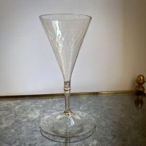 Verre de fougère XVIIe décor grain de riz XVIIIe antique glass Art populaire 18e