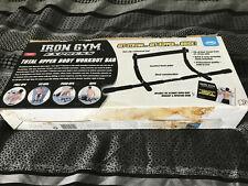 Iron Gym Express Upper Body Workout Bar - Pull Ups, Sit Ups, Push Ups, Dips