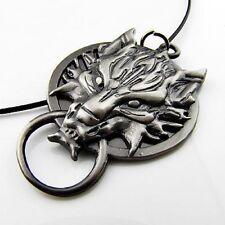 Final Fantasy cloud woft head necklace