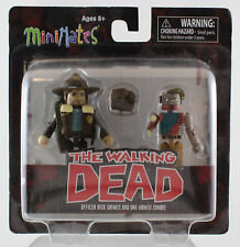Mini Mates: The Walking Dead Rick Grimes and One armed Zombie
