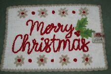 """NEW """"Merry Christmas"""" Bath Rug 20"""" x 30"""" by St Nicholas Square"""