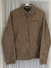 Women's Aeropostale Tan Corduroy Zipper Jacket w/ soft lining, XS Inner pocket